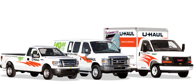 Self Storage and U-Haul Trucks