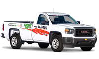 U-Haul Pick Up Truck